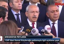 Kemal Kılıçdaroğlunda patlama açıklaması