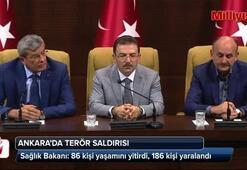 Sağlık Bakanı: 86 kişi yaşamını yitirdi, 186 kişi yaralandı