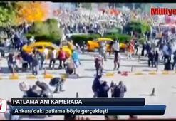 Ankaradaki patlamanın yeni görüntüleri