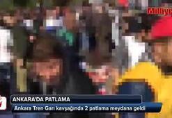 Ankarada miting öncesi patlama