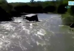 Cip suya kapıldı, sürücüsü öldü