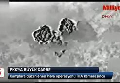 PKKnın mühimmat deposu böyle infilak etti