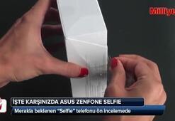 Asus Zenfone Selfie ön inceleme - kutu açılımı videosu