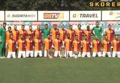 Galatasaray, 3 Kupa İle Poz Verdi