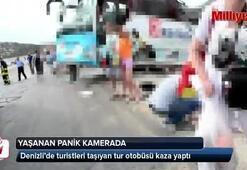 Denizli'de tur otobüsü devrildi: 4 ölü, 38 yaralı