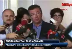 Altay: PKKnın bir an önce silahları bırakması gerekir