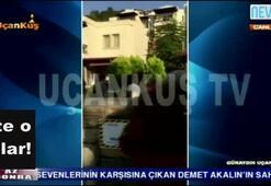Emrahın evine saldırının görüntüleri ortaya çıktı