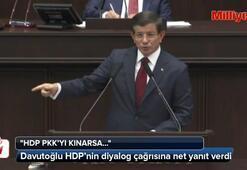 Davutoğlundan HDPye şok sözler