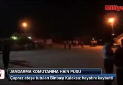 Jandarma komutanına silahlı saldırı