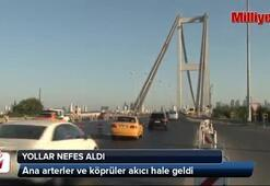 İstanbul nefes aldı