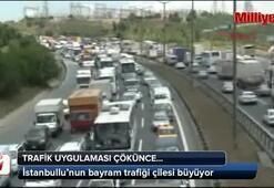 İstanbullunun bayram trafiği çilesi