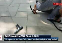 Korkunç cinayet kamerada (+18)