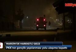 PKKlılardan tabancalı ve molotoflu eylem
