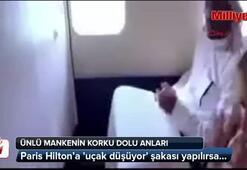 Paris Hiltona uçak düşüyor şakası