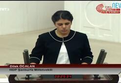Dilek Öcalan yemin etti