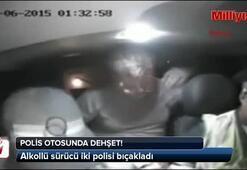 Polis otosunda dehşet saçtı (+18)