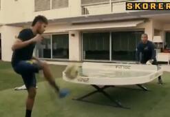 Neymar Futtoc ile stres attı