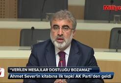 Ahmet Severin kitabına ilk tepki Ak Partiden geldi