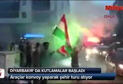 Diyarbakırda kutlamalar başladı