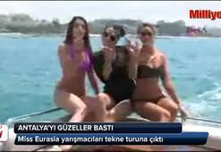 Antalyayı güzeller bastı