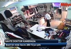 Sahte doktor güvenlik kamerasında