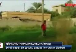 IŞİD komutanından bazukalı infaz (+18)