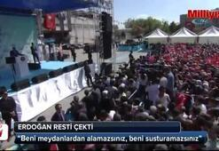 Erdoğan resti çekti: Nereye giderseniz gidin...