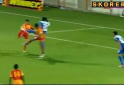 İsrailde mükemmel gol Akrep...