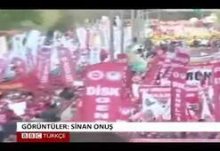 Ankarada şarkılı, halaylı 1 Mayıs kutlamaları