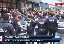 Trabzonda gergin 1 Mayıs