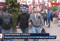 Beşiktaş ve Okmeydanında 1 Mayıs gözaltıları