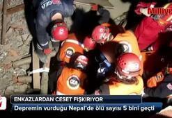 Nepal'de ölü sayısı 5 bini geçti