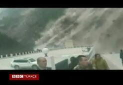 Nepal depreminin Tibeti vurduğu an