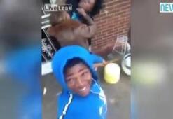 Sevgilisi annesiyle kavga etti, o kaydetti