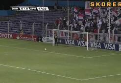 Sao Paulo 90+1de güldü