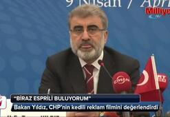 Bakan Yıldız'dan CHP'nin kedili reklamına yorum