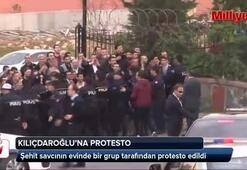 Kemal Kılıçdaroğluna protesto