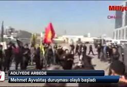 Mehmet Ayvalıtaş duruşması olaylı başladı