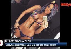 Gabi Grecko bu defa fazla abarttı