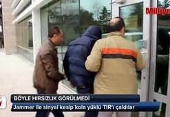 Jammerlı kola hırsızları yakalandı