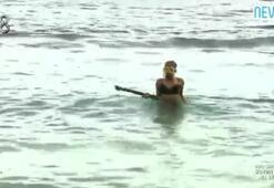 Seda denizde kayboldu