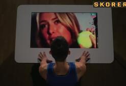 Sharapova ve Ronaldodan Line zorlu test