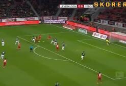 Leverkusen gol oldu yağdı