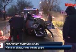 Ankarada feci kaza