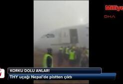 THY uçağı Nepalde iniş yaparken pistten çıktı
