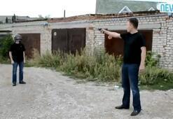 Silahını doğrulttu ve tetiği çekti (+18)