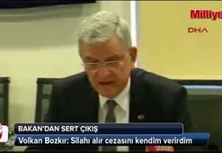 AB Bakanı Volkan Bozkırdan sert çıkış