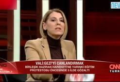 Sevda Türküseve tepki Hükümet sözcüsü değilsiniz