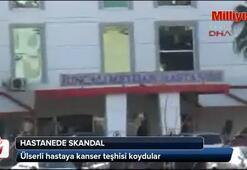 Hastanede büyük skandal