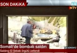 Somalide bombalı saldırı